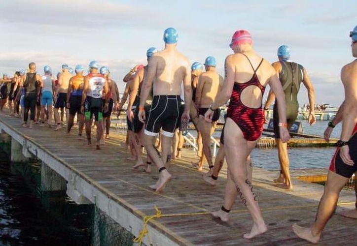 Para el domingo 20, se realizará el Metlife Ironman 70.3 Cozumel a partir de las 7 de la mañana. (Redacción/SIPSE)