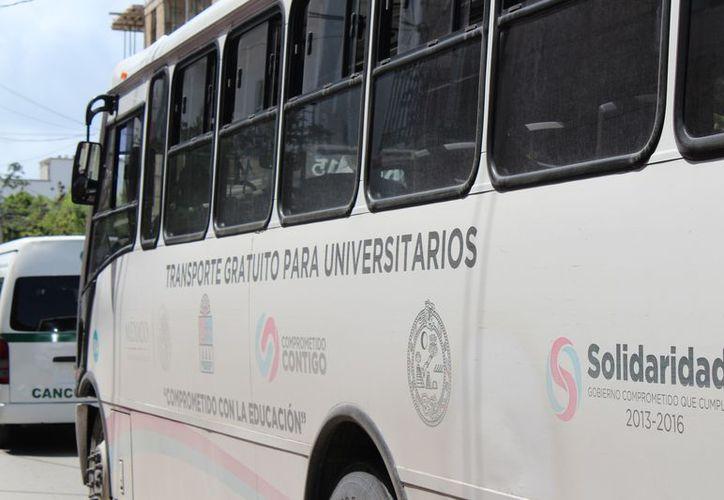 Se necesitará más transporte urbano con el crecimiento de la ciudad. (Adrián Barreto/SIPSE)