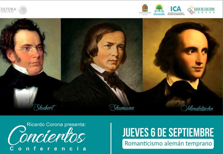 """Ricardo Corona continuará con los conciertos-conferencia """"La historia de occidente narrada con un piano"""". (Foto: Redacción/SIPSE)"""
