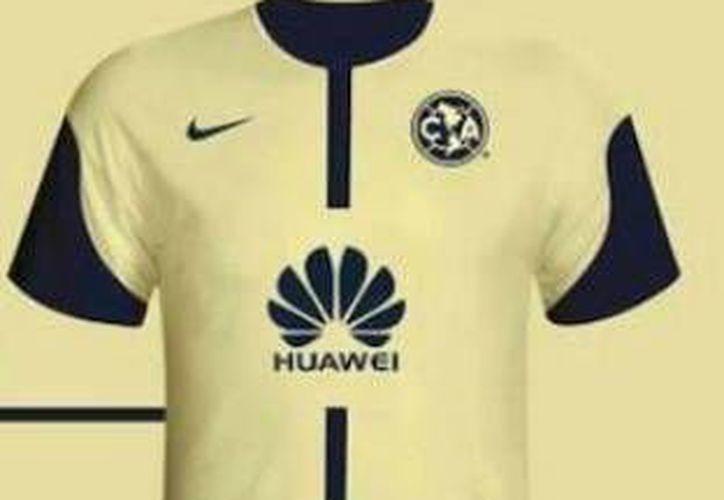 La marca Huawei, empresa privada de alta tecnología que se especializa en investigación y desarrollo, estará en el centro  de la playera sustituyendo a Bimbo (Récord)