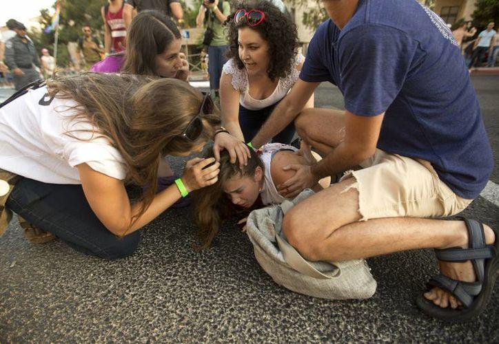 La semana pasada, un judío ultraortodoxo apuñaló a seis personas en la marcha gay de Jerusalén. El domingo falleció una de las víctimas. (Archivo/AP)