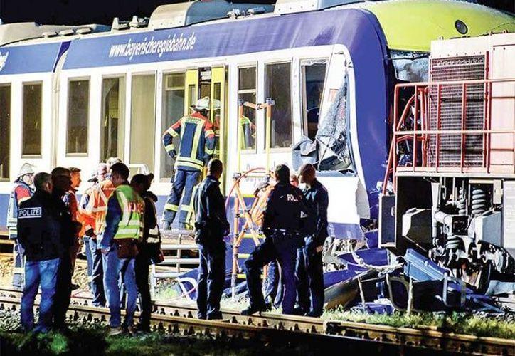 El incidente se registró en la ruta entre Ingolstadt y Augsburgo, en Baviera.  (excelsior.com)