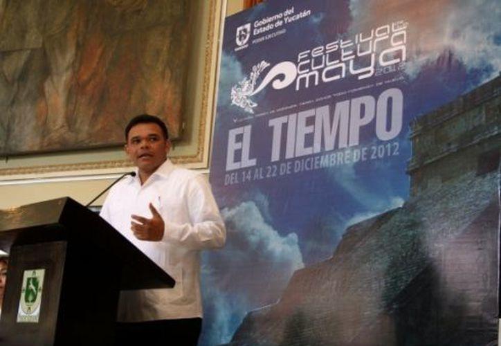Según Zapata Bello, el Festival de la Cultura Maya será anual. (Milenio)