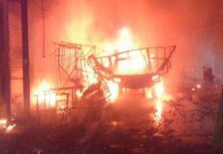 La explosión dejó un saldo de 22 heridos. (The Huffington Post México).