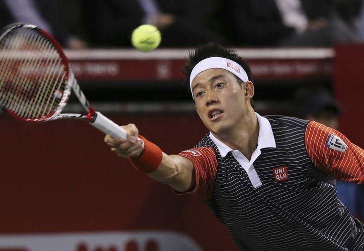 Nishikori también ganó los torneos de Memphis, Barcelona y Kuala Lumpur esta temporada. (AP)