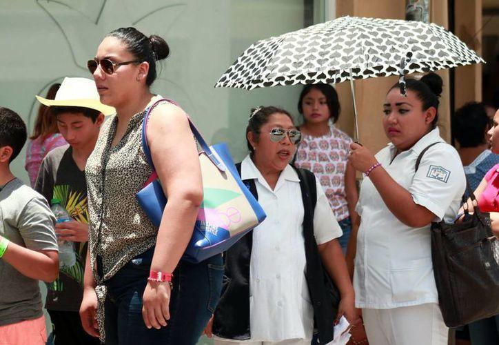 El domingo, la temperatura máxima en Mérida fue de 37 grados. (SIPSE)
