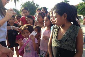Llega 24x24 a niños de comunidades rurales