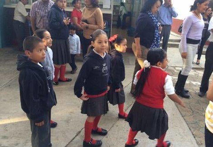 Más de un millón de niños volvieron a clases junto con 81 mil profesores, en 13 mil escuelas. (Óscar Rodríguez/Milenio)