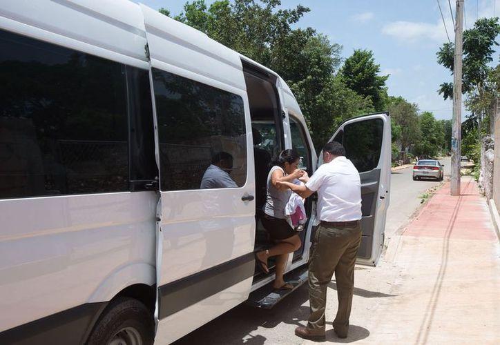 El trayecto de casi 12 kilómetros significó para la familia un ahorro de 60 pesos, el costo del pasaje en transporte público. (Milenio Novedades)