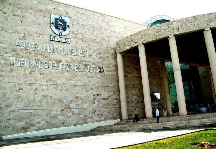 En el Poder Judicial de Yucatán se promueve, desde 2015, la perspectiva de género. Imagen de la sede del Tribunal, en Mérida. (Milenio Novedades)