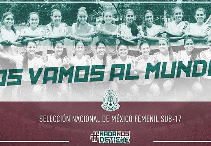 El Tri Femenil buscará el título del Mundial el martes frente al ganador de la otra Semifinal. (Twitter)