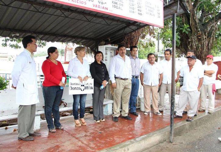 Informaron que la campaña se extenderá hacia todas las organizaciones sociales en el municipio. (Raúl Balam/SIPSE)