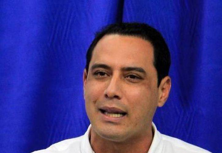 Imagen del candidato a la dirigencia del PAN Yucatán, Raúl Paz Alonzo, quien habló sobre los reclamos de los militantes durante su campaña. (Milenio Novedades)