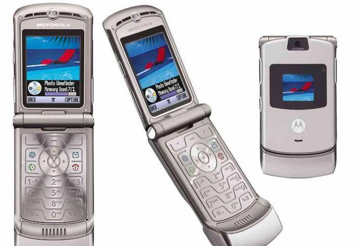 El Razr fue uno de los productos estrella de Motorola desde su lanzamiento en 2005. (phonedog.com)