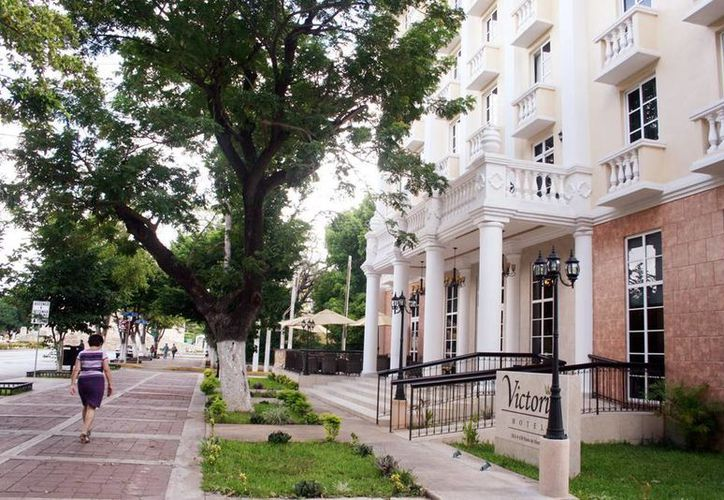 Muchos turistas se hospedaron en hoteles de Paseo de Montejo. (Milenio Novedades)