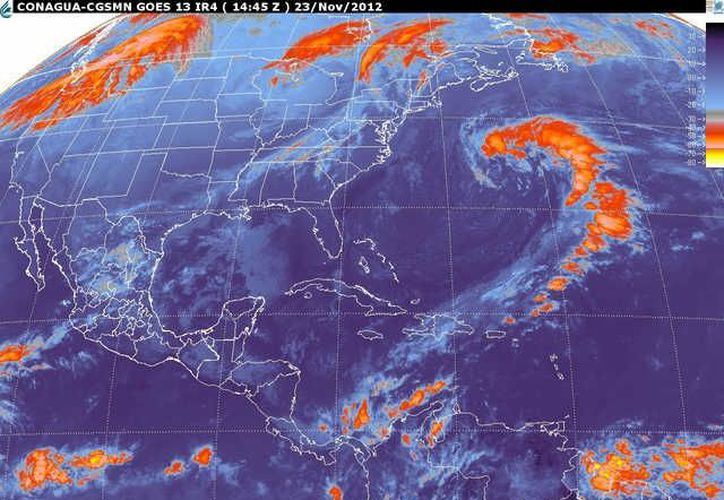 Soplarán vientos del norte y noreste de 20 a 45 km/h. (smn.cna.gob.mx)