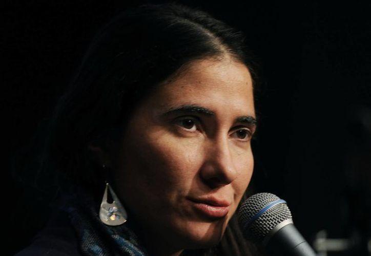 Yoani Sánchez inició el pasado 18 de febrero una gira internacional de 80 días. (EFE)