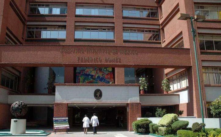 La cirugía de corazón artificial para  una niña se realizó en el Hospital Infantil de México 'Doctor Federico Gómez'. (Archivo/Notimex)