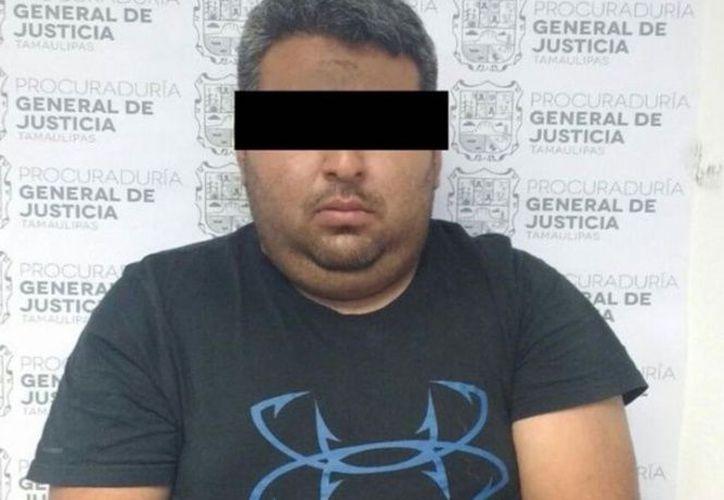 Tom Cabezón', supuesto miembro de Los Zetas en la zona. (Excelsior)