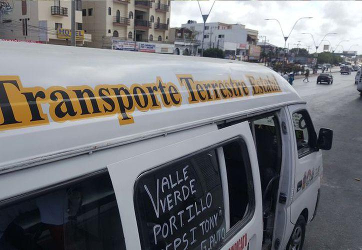 La Franja Roja y TTE son las únicas concesiones en la ciudad que hasta ahora aumentaron la tarifa. (Foto: Jesús Tijerina/SIPSE)