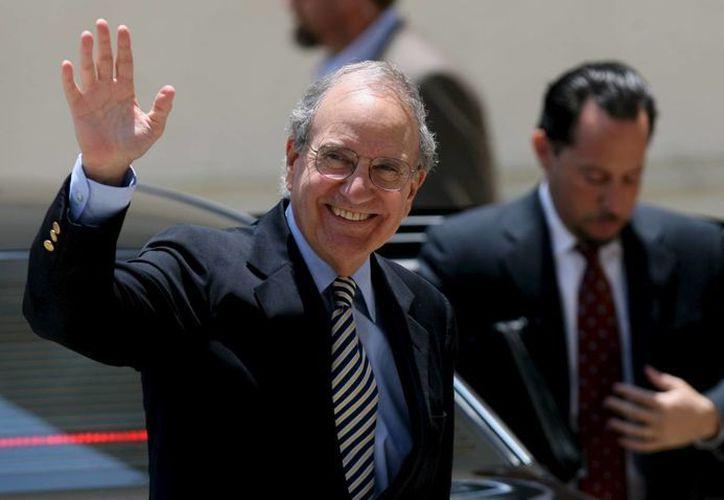 En la imagen, el recién nombrado nuevo enviado estadounidense para Siria, Daniel Rubinstein (d). (EFE/Archivo)