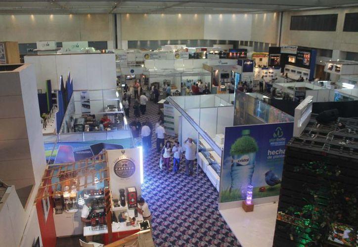 En el Cancún Center se realizarían conferencias. (Israel Leal/SIPSE)