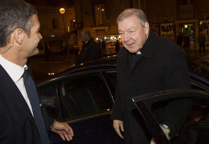 Cardenal George Pell, prefecto de la secretaría de Economía del Vaticano, participa en un proceso contra sacerdotes por los casos de abusos a menores en Australia. (AP/archivo)