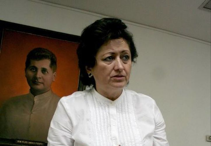 Silvia López Escoffié. (SIPSE)