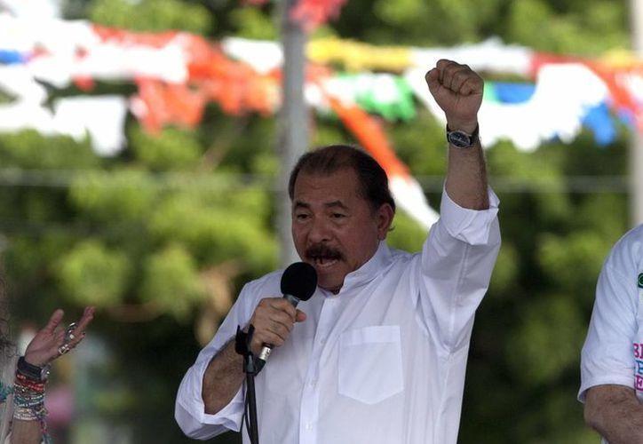 El presidente de Nicaragua, Daniel Ortega. (Archivo/EFE)