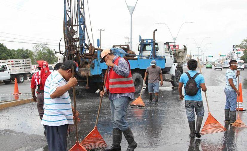 Los trabajos se realizaron en diversas regiones de la ciudad. (Redacción/SIPSE)