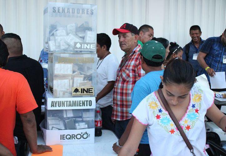 La alta participación en Solidaridad se reflejó también en la tabla porcentual. (Adrián Barreto)