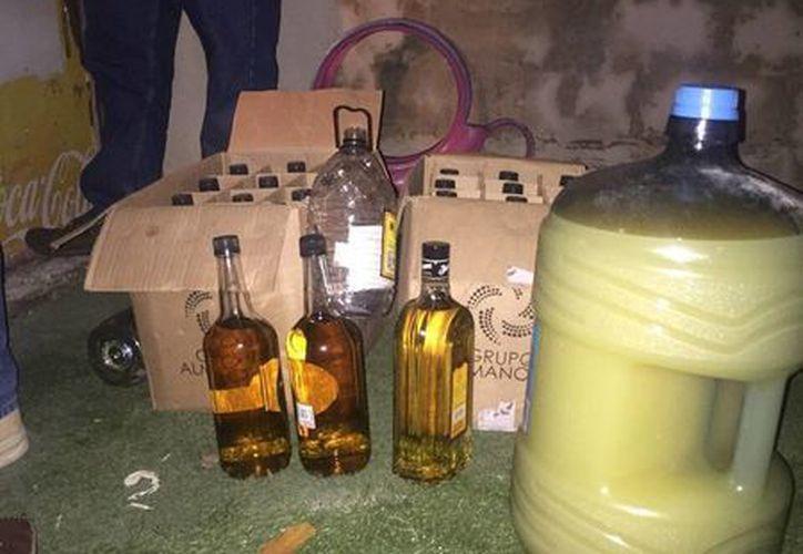El sábado las autoridades suspendieron una fiesta en la que había alrededor de 50 adolescentes en estado de ebriedad. (Cortesía)