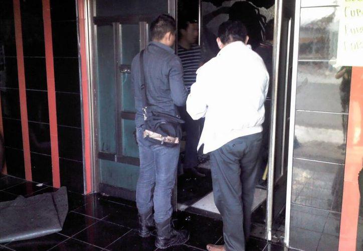 El detenido fue trasladado a las instalaciones del Poder Judicial. (Redacción/SIPSE)