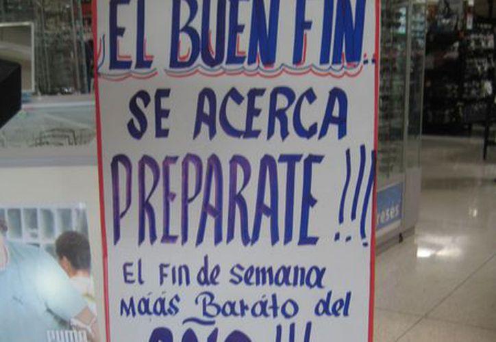 Cinco empresas locales se registraron en el Buen Fin, aunque otras ofertan sus productos y servicios de manera directa. (Lanrry Parra/SIPSE)