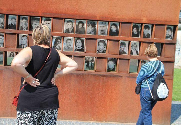 En 2013, los restos del Muro de Berlín registraron 850 mil visitantes, la mayoría alemanes. (Notimex)