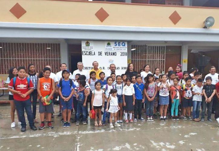 Inicia curso de verano para más de dos mil alumnos. (SIPSE)