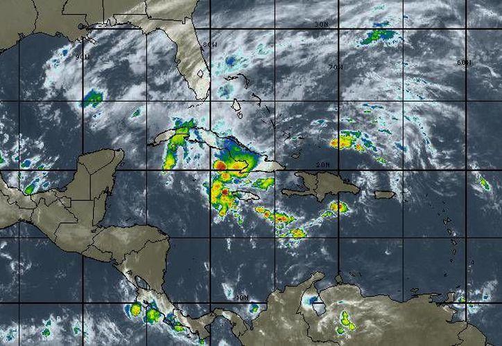 En Cancún los vientos oscilarán en los 22 kilómetros por hora. (Intellicast)