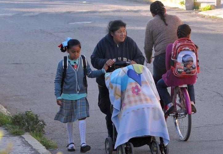 Retoman actividades los estudiantes, después de los sismos pasados. (Foto: Notimex)