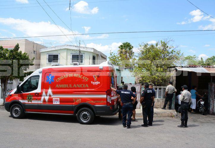 El accidente donde una niña de cinco años murió ahogada ocurrió en la colonia Melitón Salazar. (V. González/ SIPSE)
