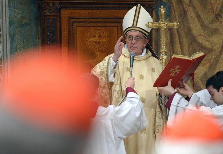 El cardenal argentino Jorge Mario Bergoglio se convirtió este miércoles en el Pontífice número 266 de la Iglesia Católica. (Agencias)