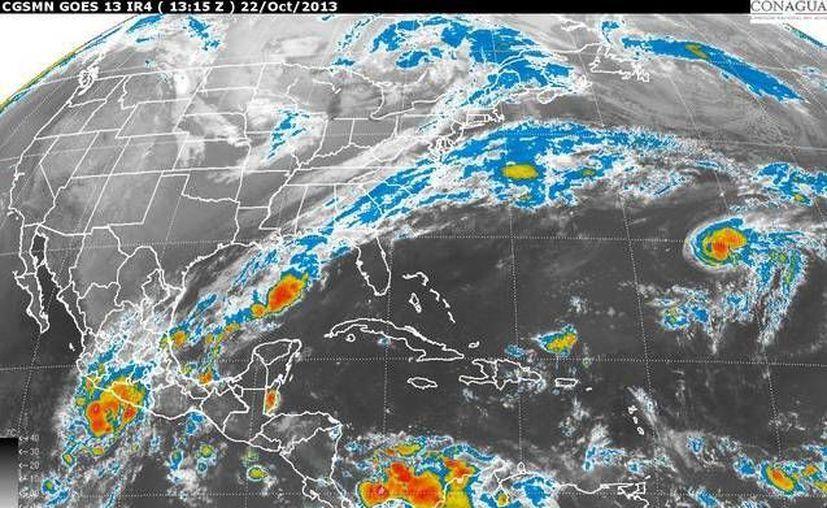 En Quintana Roo se pronostica ambiente caluroso y cielo medio nublado a nublado. (Foto/Conagua)