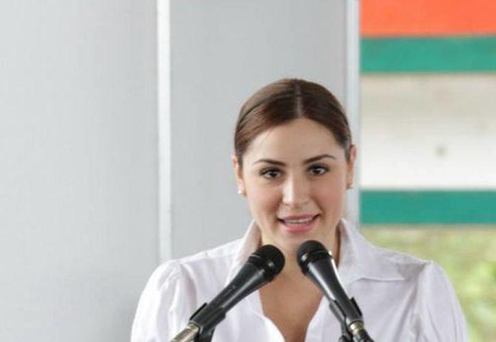 Mariana Zorrilla dijo que hubieron actividades de recreación, culturales y deportivas. (Cortesía/SIPSE)