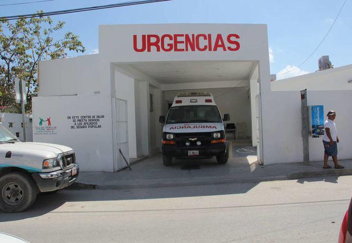 Antes de acudir al sector Salud para una consulta, piden a la población valorar si se trata de una urgencia real. (Rossy López/SIPSE)