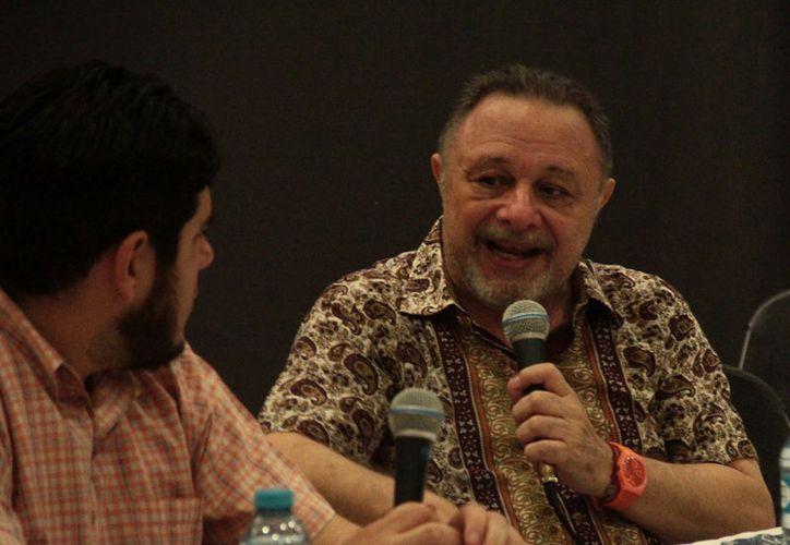 Fernando Muñoz Castillo durante su participación en la Filey 2017. (Milenio Novedades)