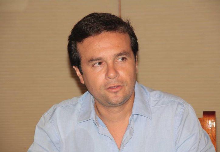 Joaquín Delbouis opinó que fue terrible el voto sobre el incremento del IVA. (Julián Miranda/SIPSE)