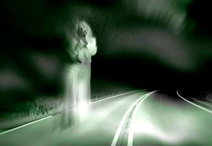 El mítico personaje de La Llorona, famoso sobre todo en el centro del país, se lamentaba por haber perdido a sus hijos. Una imagen similar aparece en Yucatán. (Jorge Moreno/SIPSE)