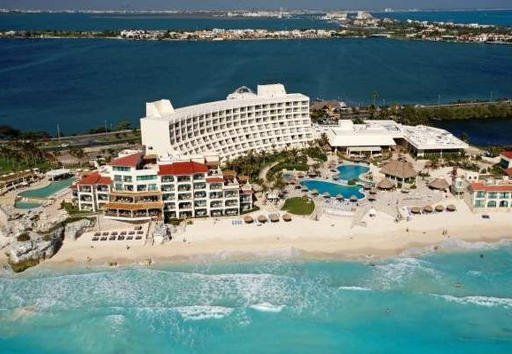 Las turistas se hospedaban en el hotel Grand Park Royal, Cancún Caribe. (Internet)