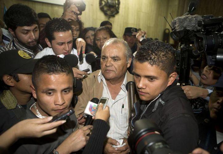 La defensa de Pedro García Arredondo aseguró que apelará la sentencia impuesta por el Tribunal de Mayor Riesgo de Guatemala.  (AP)