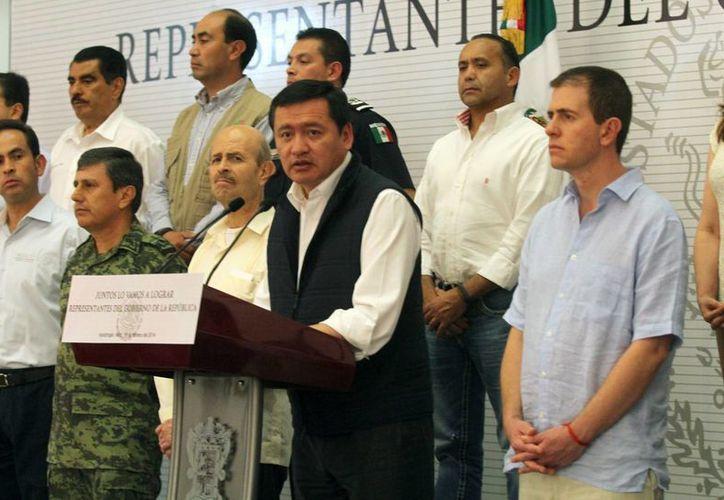 Osorio Chong indicó que la estrategia de seguridad no tendrá cambios. (Notimex)