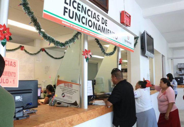 Este año se sumaron más de mil negocios a la base de datos del Ayuntamiento de Solidaridad. (Adrián Barreto/SIPSE)